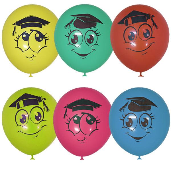Воздушные шары выпускник