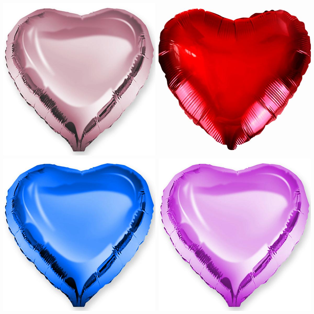 Недорогие шары в форме сердца