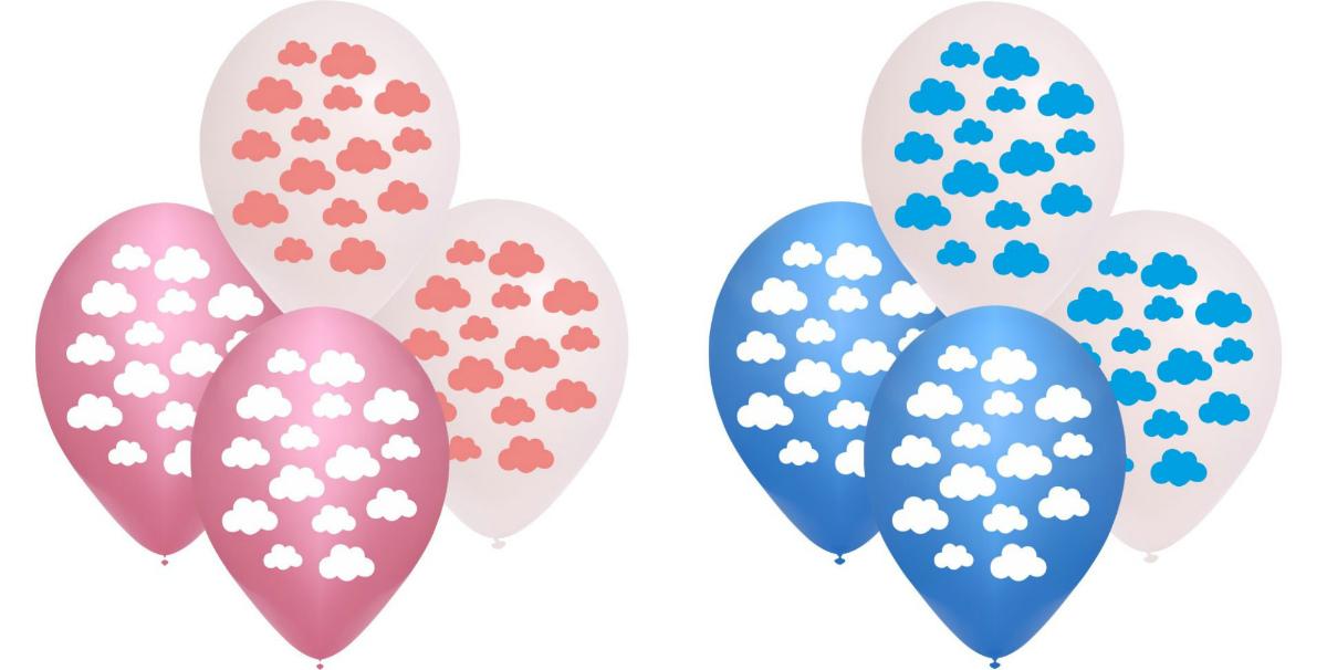 Шары Balloonia с облаками