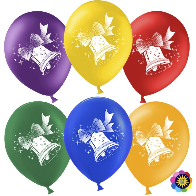 Воздушные шары с колокольчиком