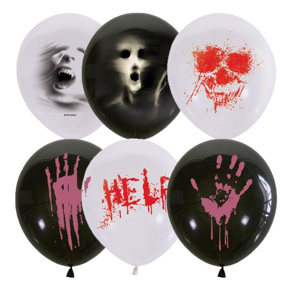 Латексные шары к Хэллоуину