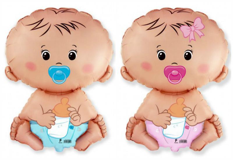Фольгированные шары - малыши