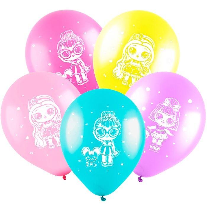 Воздушные шары Модные куклы