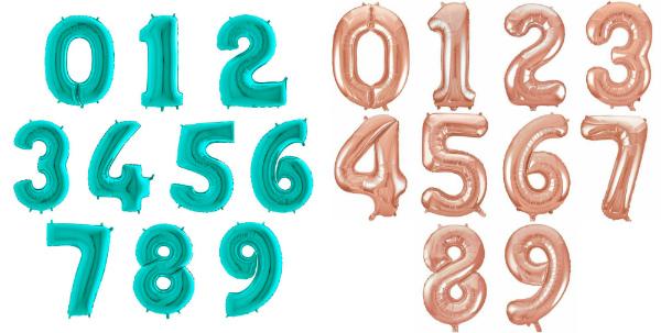 Фольгированные цифры Flexmetal