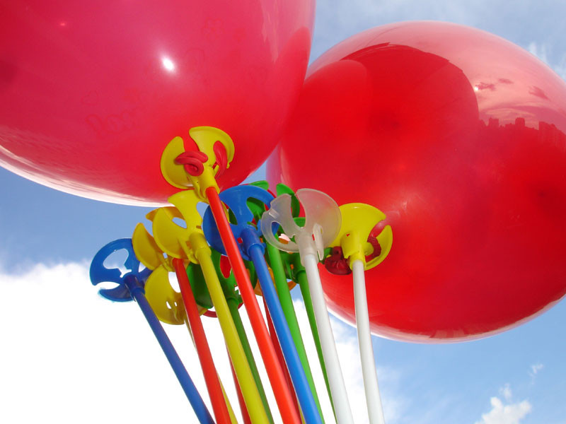 Трубочки и зажимы для воздушных шаров