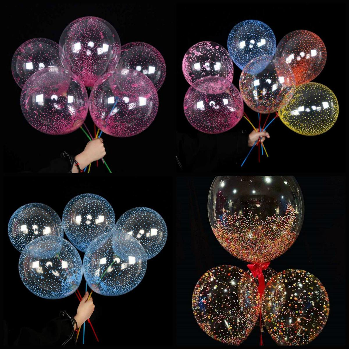 Пенопластовые шарики - наполнители для воздушных шаров