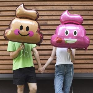 Воздушные шары-смайлы