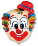Шар фигура, Клоун Голова А / Clown head A (в упаковке)