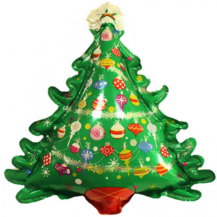 Шар фигура, Новогодняя елка (с игрушками) купить оптом и в ...